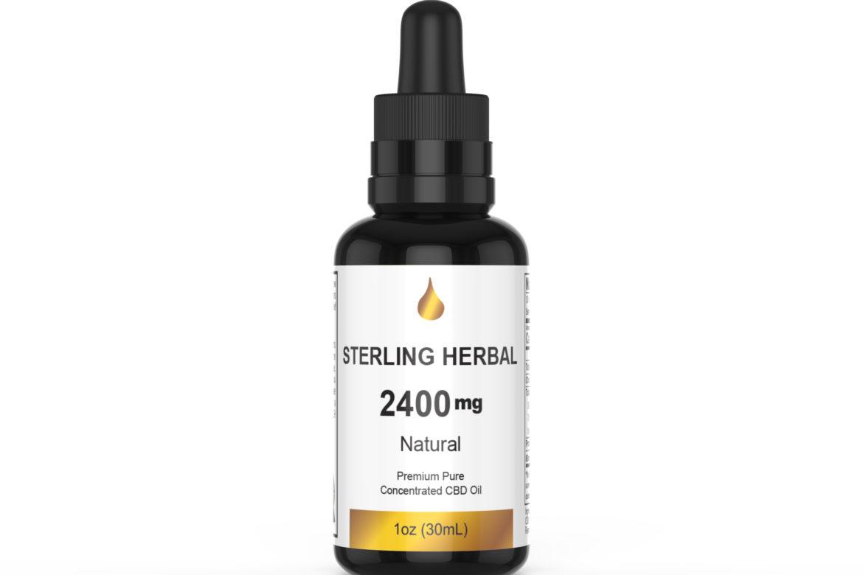 ~Sterling Herbal CBD oil 2400mg Full Spectrum