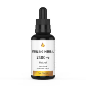 ~Sterling Herbal CBD oil 2400mg Full Spectrum