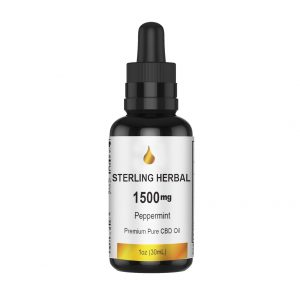 STERLING HERBAL CBD OIL 1500MG